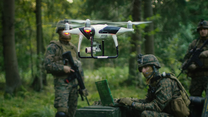UAVs and ATAK – Providing a Full Picture of the Battlefield