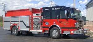 Custom Curbside Single Axle CAFS Pumper Tanker