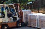 Forklift Box of Water