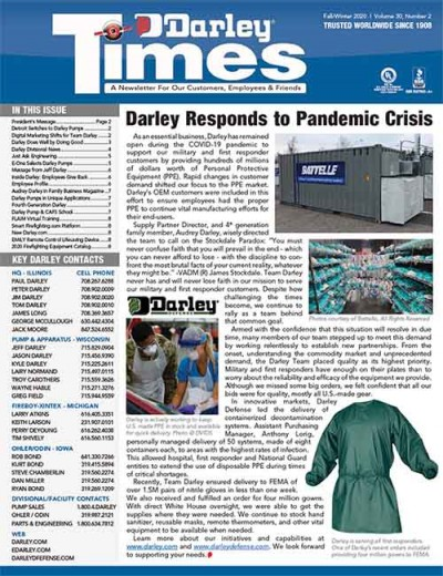 Darley Times Fall/Winter