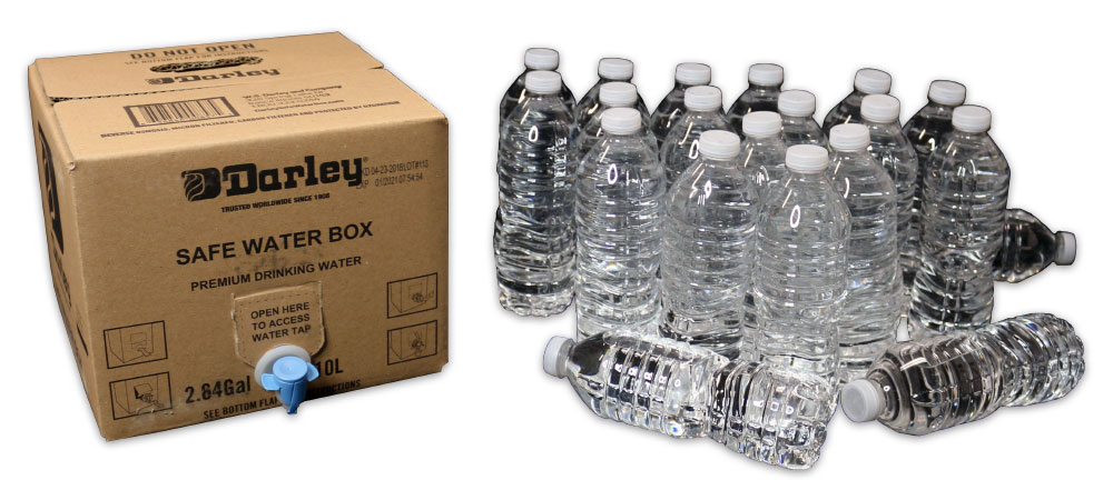 boxed water and bottles image