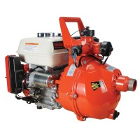 6.5 HP Twin-Impeller Honda Electric Start Pump