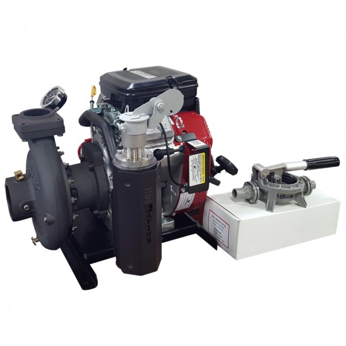 2BE18VX - Low Cost Portable Pump Side Angle