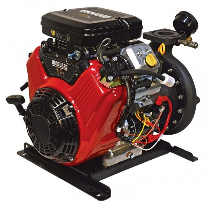 2BE18VX - Low Cost Portable Pump Back Angle