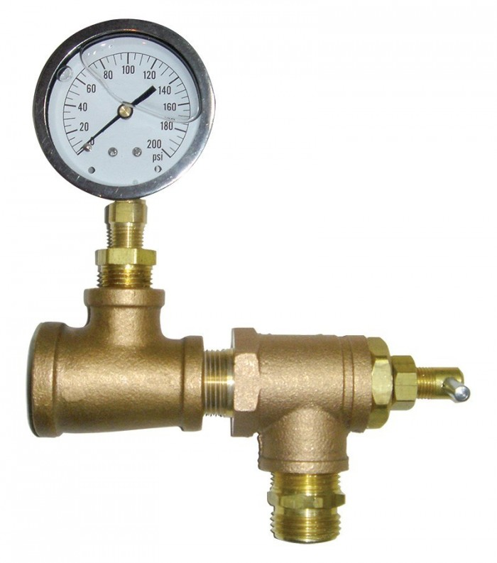 Automatic pressure relief valve kit