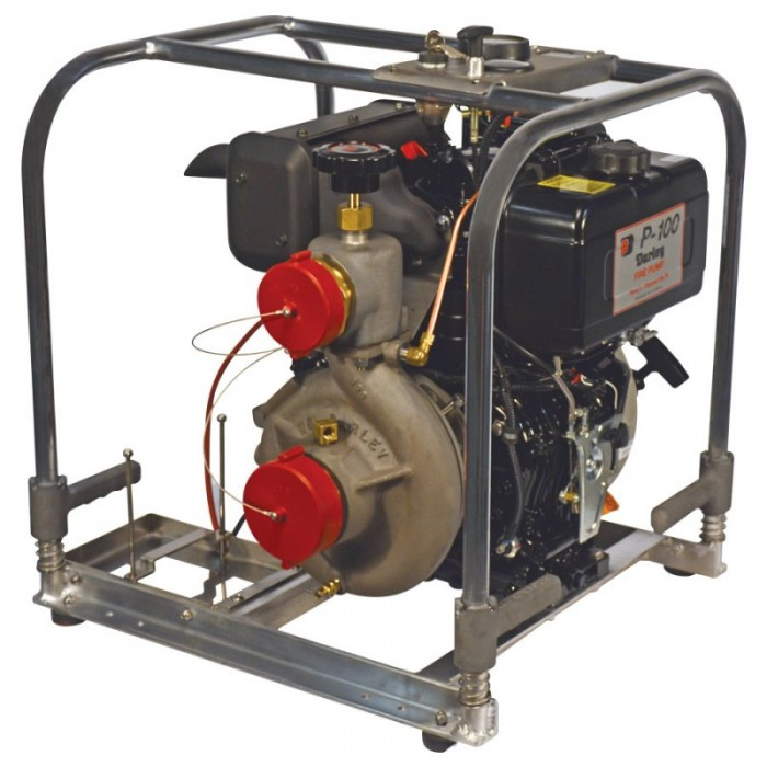 2BE10YDW Pump Front Angle