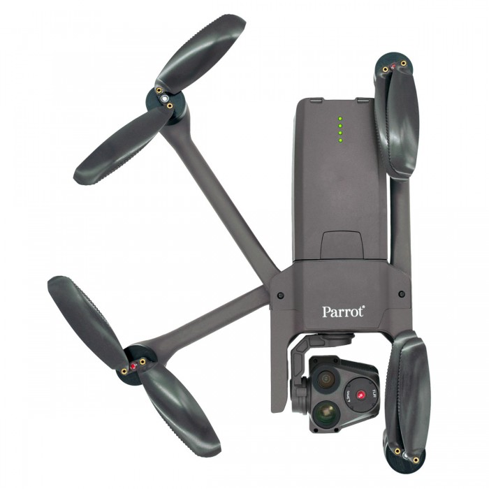 ANAFI USA Drone Partially Folded